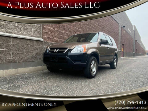 2004 Honda CR-V for sale at A Plus Auto Sales LLC in Denver CO