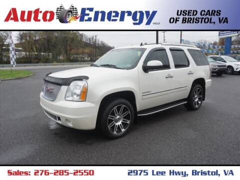 2011 GMC Yukon for sale at Auto Energy-Bristol in Bristol VA