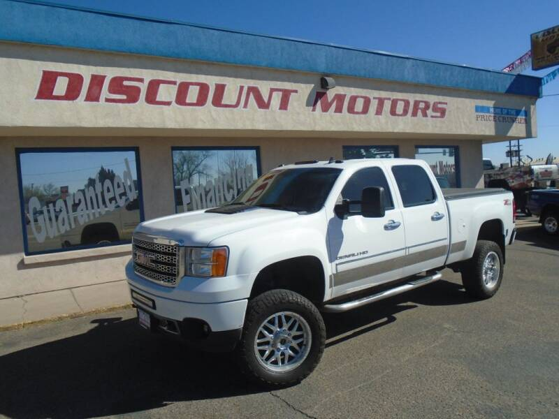 2013 GMC Sierra 2500HD for sale at Discount Motors in Pueblo CO