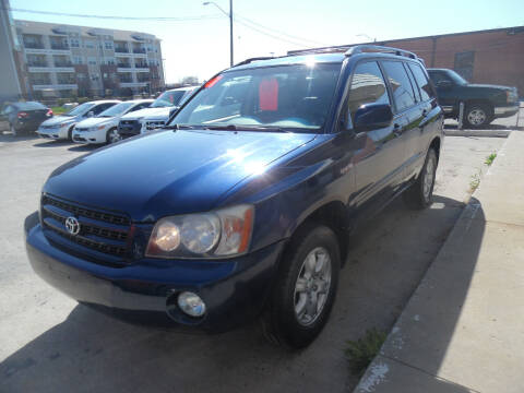 2001 Toyota Highlander for sale at VEST AUTO SALES in Kansas City MO