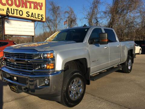 2015 Chevrolet Silverado 3500HD for sale at Town and Country Auto Sales in Jefferson City MO