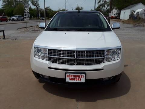 2009 Lincoln MKX for sale at NORTHWEST MOTORS in Enid OK