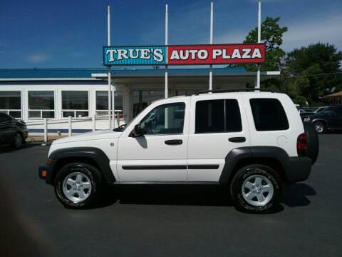 2007 Jeep Liberty for sale at True's Auto Plaza in Union Gap WA