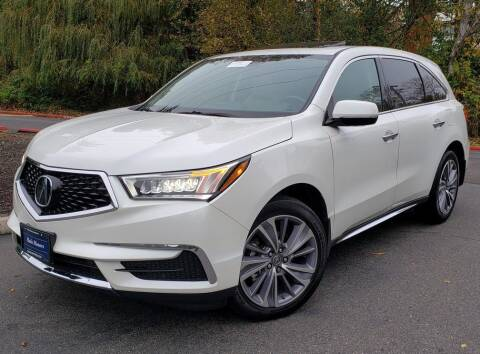 2017 Acura MDX for sale at Halo Motors in Bellevue WA