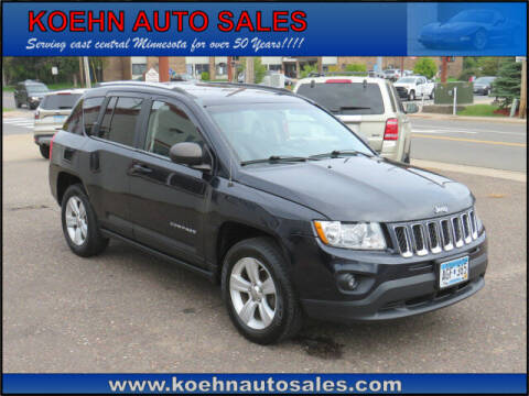 2011 Jeep Compass for sale at Koehn Auto Sales in Lindstrom MN
