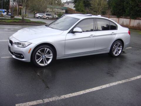 2016 BMW 3 Series for sale at Western Auto Brokers in Lynnwood WA