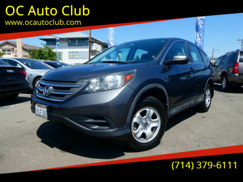 2013 Honda CR-V for sale at OC Auto Club in Midway City CA