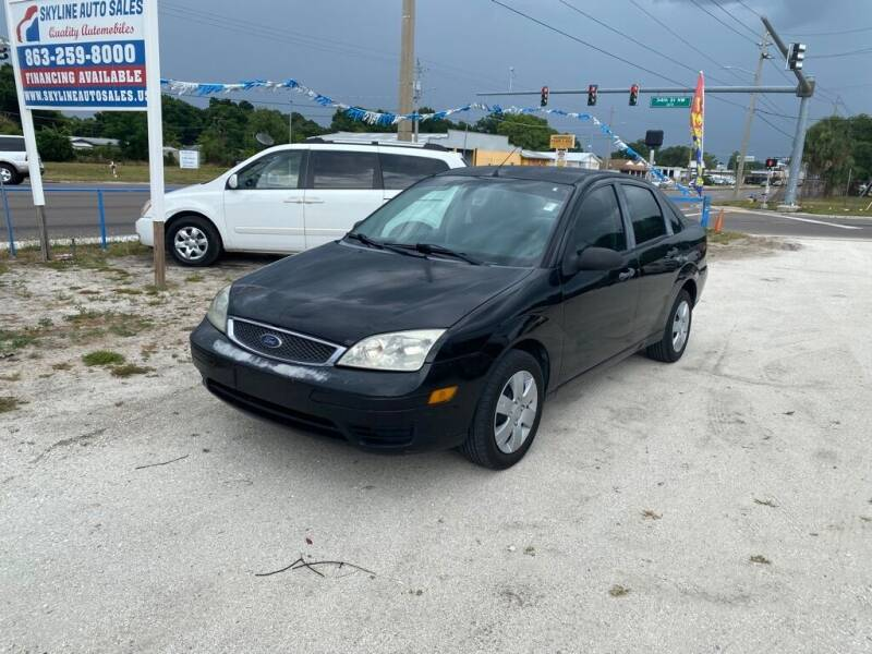 2007 Ford Focus for sale at SKYLINE AUTO SALES LLC in Winter Haven FL