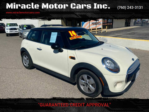 2014 MINI Hardtop for sale at Miracle Motor Cars Inc. in Victorville CA