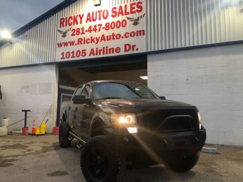 2010 Ford F-150 for sale at Ricky Auto Sales in Houston TX