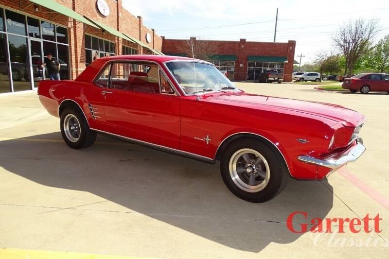 1966 Ford Mustang for sale at Garrett Classics in Lewisville TX