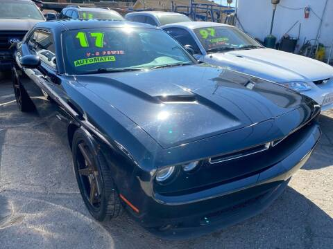 2017 Dodge Challenger for sale at CAR GENERATION CENTER, INC. in Los Angeles CA