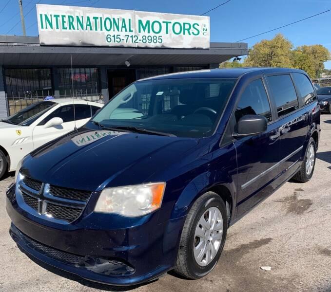 2014 Dodge Grand Caravan for sale at International Motors Inc. in Nashville TN