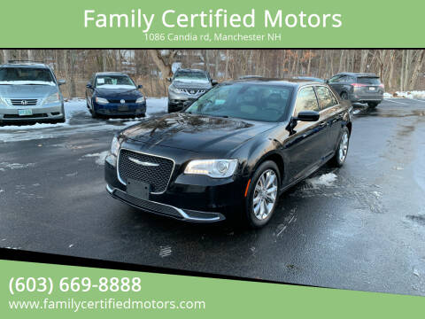 2016 Chrysler 300 for sale at Family Certified Motors in Manchester NH