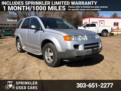 2005 Saturn Vue for sale at Sprinkler Used Cars in Longmont CO