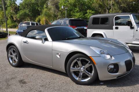 2009 Pontiac Solstice for sale at Elite Motorcar, LLC in Deland FL
