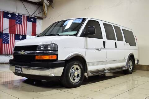 2003 Chevrolet Express Cargo for sale at ROADSTERS AUTO in Houston TX
