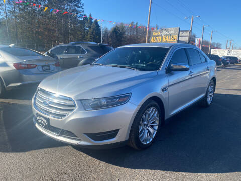 2016 Ford Taurus for sale at Affordable Auto Sales in Webster WI