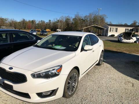 2015 Kia Cadenza for sale at IH Auto Sales in Jacksonville NC