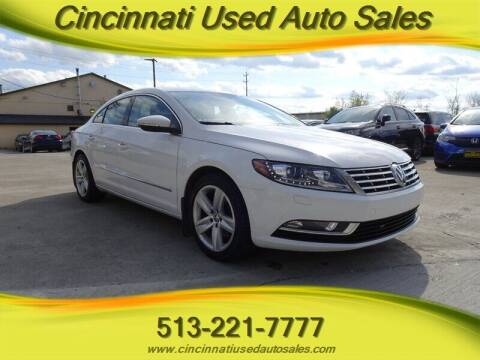 2013 Volkswagen CC for sale at Cincinnati Used Auto Sales in Cincinnati OH