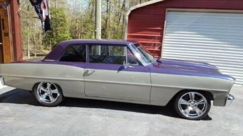 1966 Chevrolet Nova for sale at Classic Car Deals in Cadillac MI