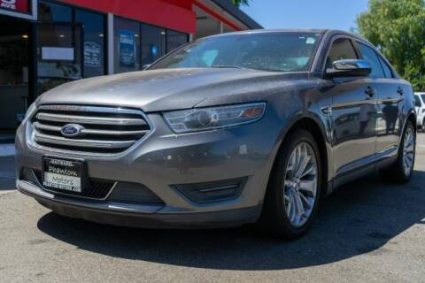2013 Ford Taurus for sale at Phantom Motors in Livermore CA