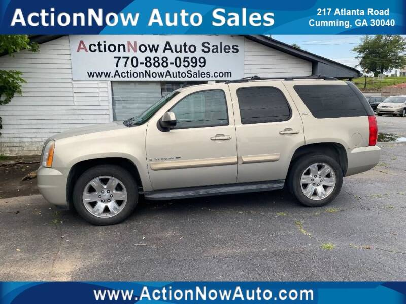 2009 GMC Yukon for sale at ACTION NOW AUTO SALES in Cumming GA