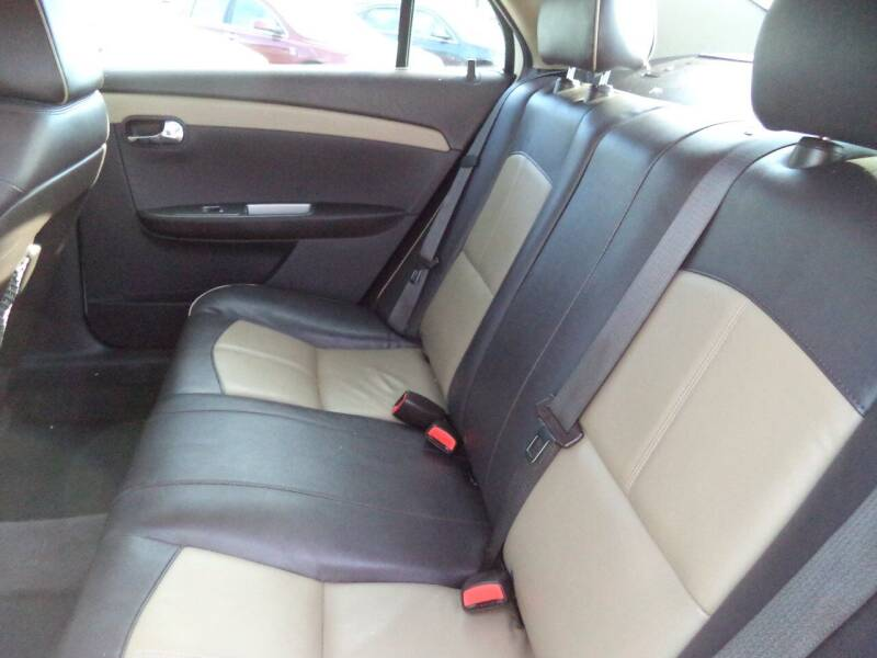 2012 Chevrolet Malibu LTZ 4dr Sedan w/2LZ - Sioux City IA
