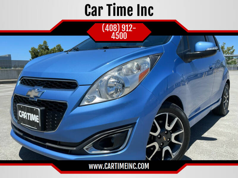 2014 Chevrolet Spark for sale at Car Time Inc in San Jose CA