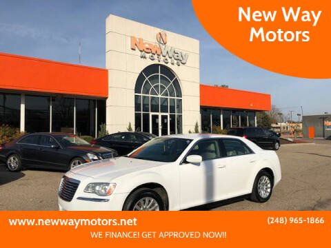 2013 Chrysler 300 for sale at New Way Motors in Ferndale MI