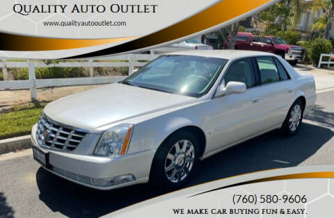 2008 Cadillac DTS for sale at Quality Auto Outlet in Vista CA