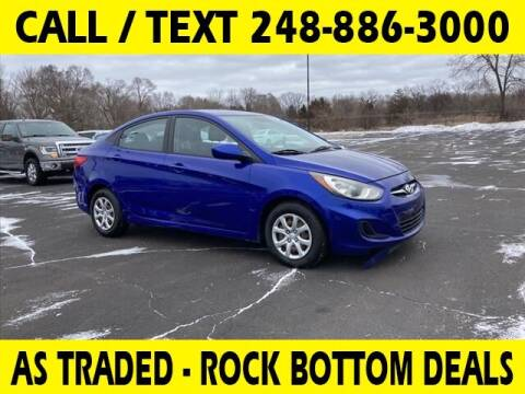 2013 Hyundai Accent for sale at Lasco of Waterford in Waterford MI