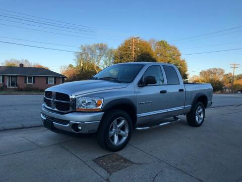 2006 Dodge Ram Pickup 1500 for sale at E Motors LLC in Anderson SC