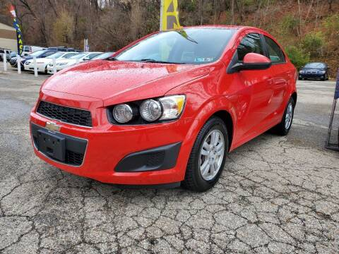2014 Chevrolet Sonic for sale at FAYAD AUTOMOTIVE GROUP in Pittsburgh PA