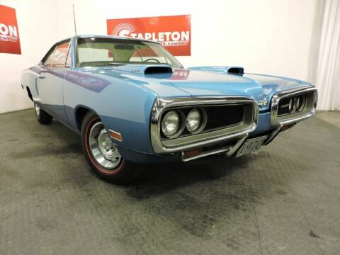 1970 Dodge Super Bee for sale at STAPLETON MOTORS in Commerce City CO