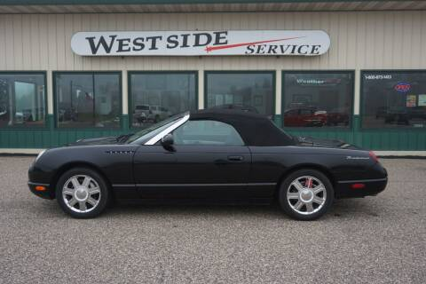 2002 Ford Thunderbird for sale at West Side Service in Auburndale WI
