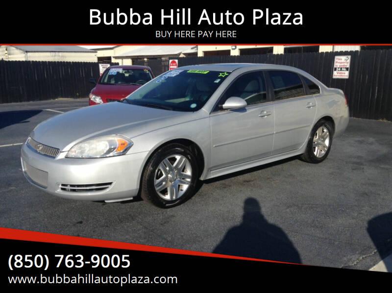 2012 Chevrolet Impala for sale at Bubba Hill Auto Plaza in Panama City FL