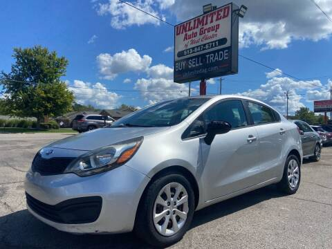 2013 Kia Rio for sale at Unlimited Auto Group in West Chester OH