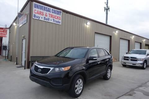 2012 Kia Sorento for sale at Universal Credit in Houston TX