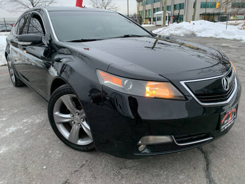 2013 Acura TL for sale at JerseyMotorsInc.com in Teterboro NJ