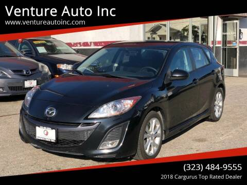 2011 Mazda MAZDA3 for sale at Venture Auto Inc in South Gate CA