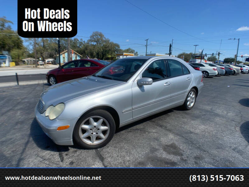 2004 Mercedes-Benz C-Class for sale at Hot Deals On Wheels in Tampa FL
