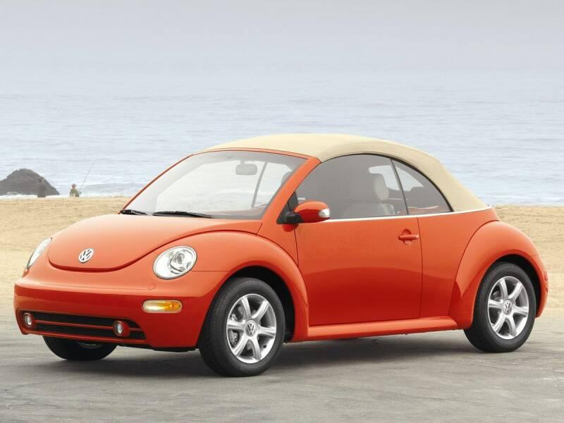 2005 Volkswagen New Beetle Convertible GLS