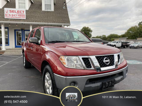 2010 Nissan Frontier for sale at Ron's Auto Sales (DBA Select Automotive) in Lebanon TN