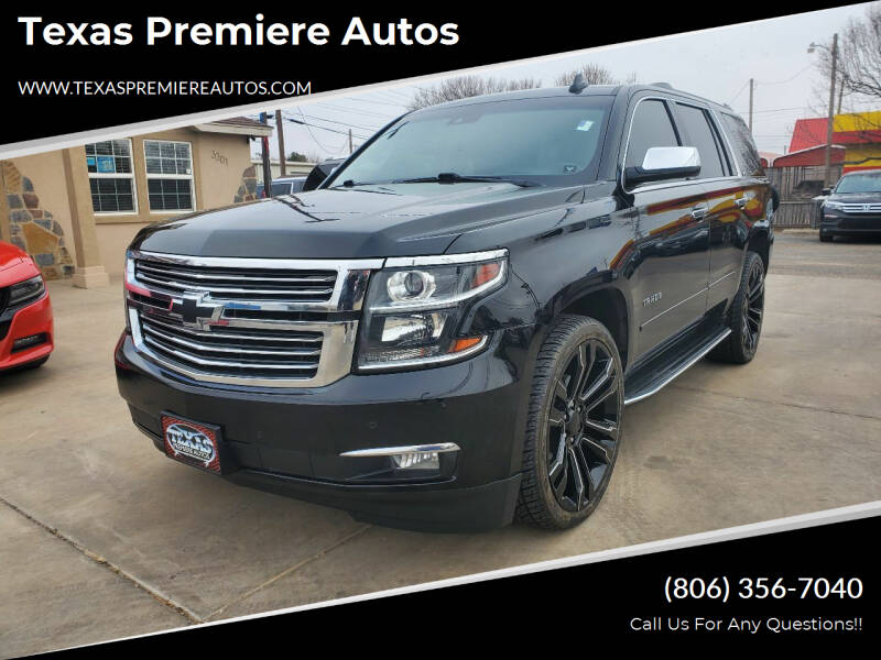 2016 Chevrolet Tahoe for sale at Texas Premiere Autos in Amarillo TX