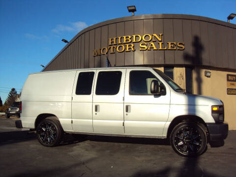 2008 Ford E-Series Cargo for sale at Hibdon Motor Sales in Clinton Township MI