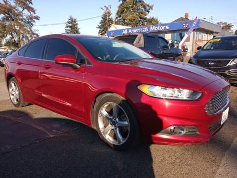 2016 Ford Fusion for sale at All American Motors in Tacoma WA