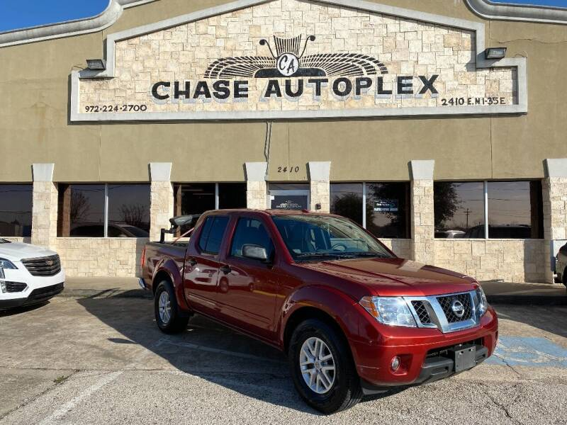 2017 Nissan Frontier for sale at CHASE AUTOPLEX in Lancaster TX