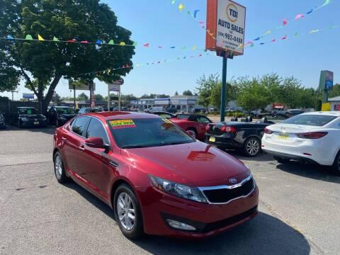 2013 Kia Optima for sale at TDI AUTO SALES in Boise ID
