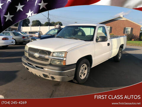 2003 Chevrolet Silverado 1500 for sale at First Class Autos in Maiden NC
